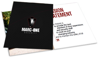 Marc-One Security Brochure - Security Services in Kent and Sussex - Download Now
